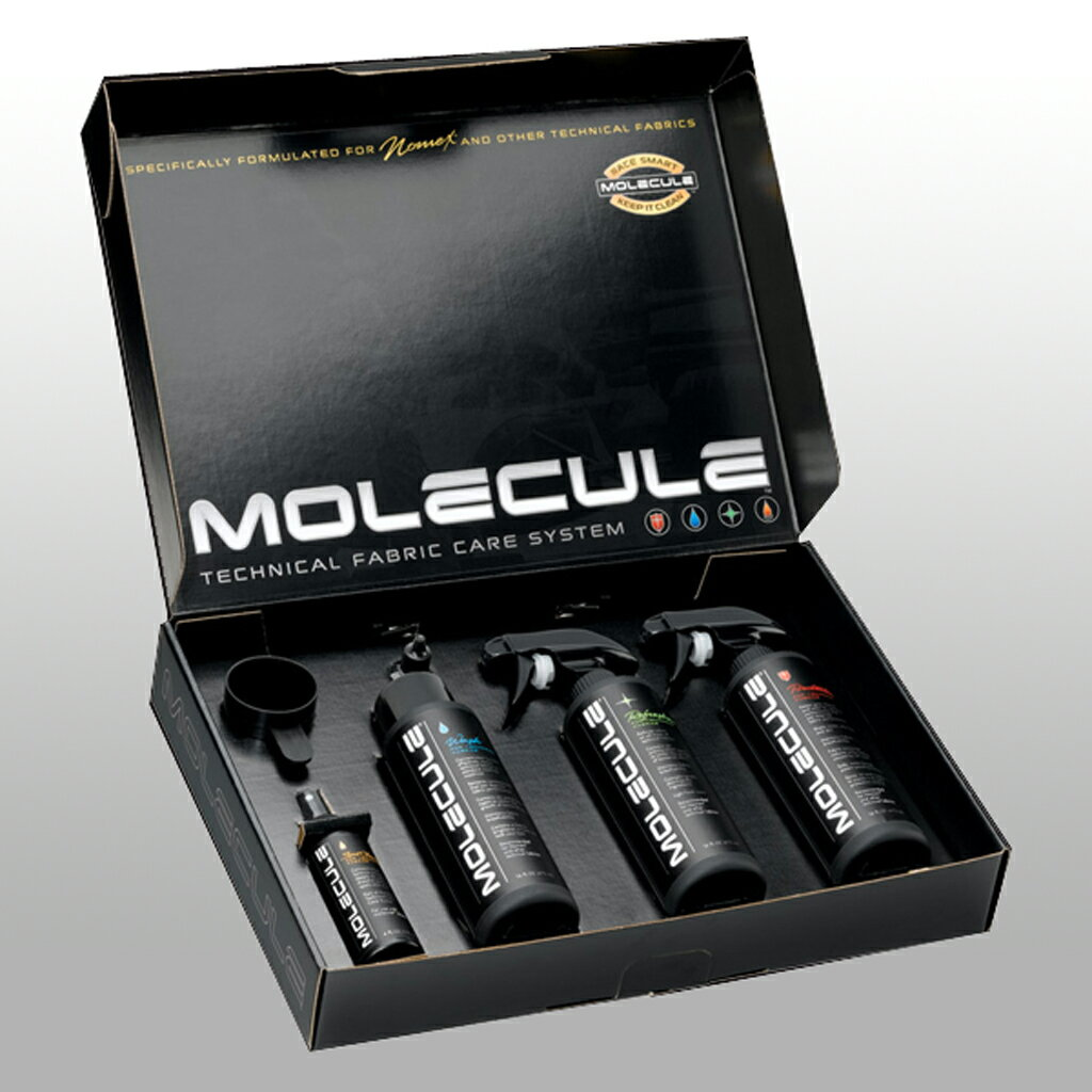 MOLECULE モレキュール ノーメックス コンプリート ケアキット4種類セット