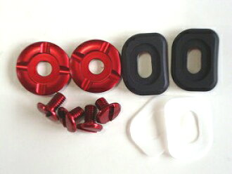 供LLC推進器配套元件螺絲安排RED(紅)ARAI CK-6安全帽使用