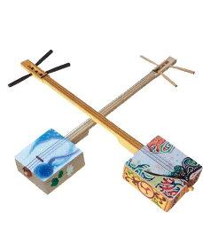 【お取寄せ商品】ファイバー三線キット【夏休み自由研究&工作】沖縄伝統の三線を作ってみよう!※この商品は組立が必要です。