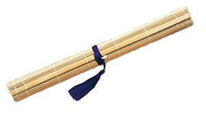 【書き初め用品】13:筆巻き 竹製フサ付 30×30cm【書初】【書初め】