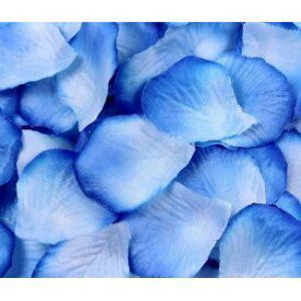 造花 花びら バラ 1000枚 (ブルー) 【送料無料】