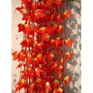 造花 紅葉 20本