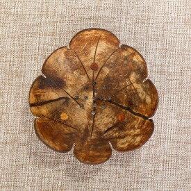ソープディッシュ 南国風 椰子 外皮製 アジアン ナチュラル系 (リーフ)