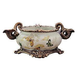 灰皿 ヨーロピアンアンティーク風 美しい蝶々 台座付き