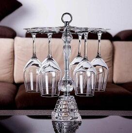 ワイングラススタンド グラスホルダー 6個掛用 クリアタイプ