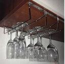 ワイングラスホルダー シンプル ステンレス製 三列タイプ (35cm)