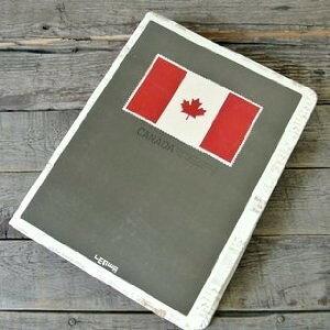 ノート ルーズリーフ カナダ国旗 メイプルリーフ (B)