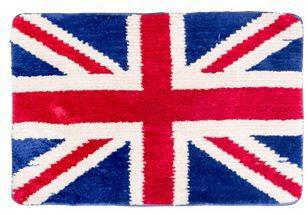 バスマット イギリス国旗 ユニオンジャック ふかふか