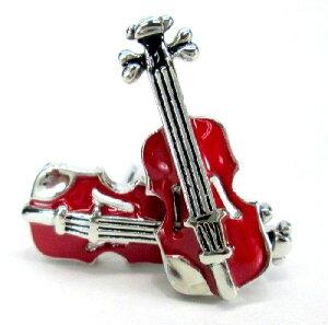 カフスボタン バイオリン モチーフ 2個セット 【送料無料】