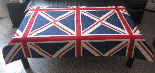 テーブルクロス イギリス国旗 ユニオンジャック柄 (長方形B 95×195cm)