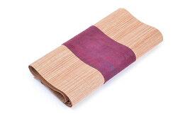 テーブルランナー 漢字柄 漢文風 和モダン 竹素材 (レッド、小 30×120cm) 【送料無料】