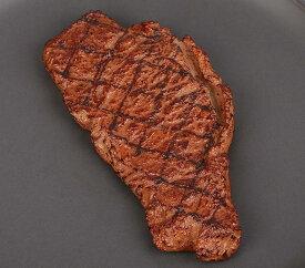 食品サンプル こんがりステーキ 食品模型 リアルな肉 (網目付き) 【送料無料】