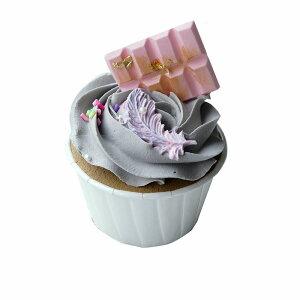 食品サンプル カップケーキ 黒ゴマ風生クリーム お菓子のトッピング (Dタイプ)