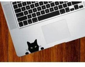 Macbook iPad ステッカー シール Black Cat Soon 【送料無料】