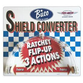 【あす楽】BUCO (ブコ) シールドの開閉を可能にする シールドコンバーター SHIELD CONVERTER シールドの開閉を可能にするアダプター。クリアー