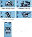 フィリックス(FELIX) UN-CAT-CHABLEシリーズ★デコステッカー ステッカー 転写タイプ Felix Sticker[FEL-002]