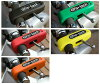 Lever locks fixed in Grip-Lock (grip lock) for bike brakes