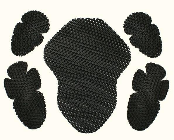 【WEB正規代理店】デグナー(DEGNER)★肩・肘・背中のパッドセット ワッフルプロテクターセット[PS-1]