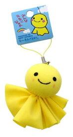 【あす楽】幸せの黄色いてるぼう ストラップ 縦 約6×横 約4.5cm