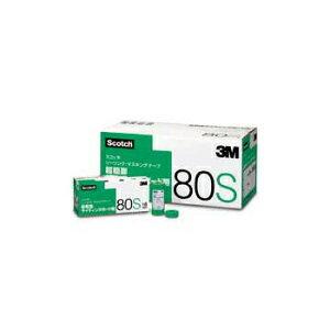 3M スコッチテープ 80S 21mm×18m 超粗面サイディングボード用 小箱60巻