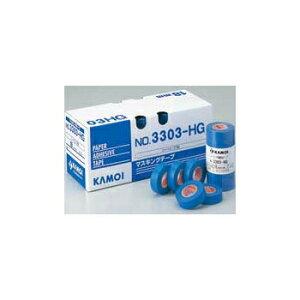 カモ井 マスキングテープ 3303-HG 21mm×18m 小箱60巻