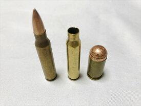 薬きょう 3個セット C 実物 米軍 使用弾 弾頭レプリカ 沖縄 薬莢 機関銃