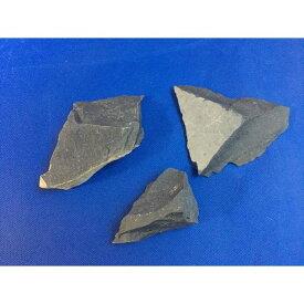 サヌカイト 讃岐石 カンカン石 石器材料 標本 500gセット