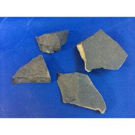 サヌカイト 讃岐石 カンカン石 石器材料 標本 1kgセット