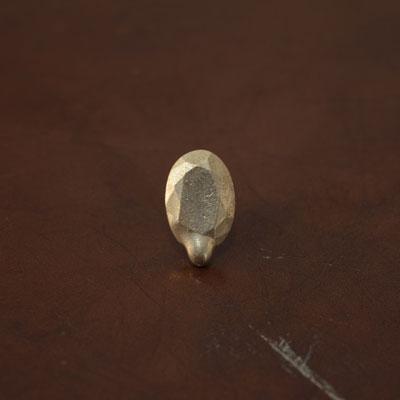 Laboratorium ラボラトリウムmelted collage jewelry001(オーバルカット)【片耳ピアス】