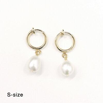 Laboratorium(ラボラトリウム)keshi pearl earringSサイズ/Mサイズ