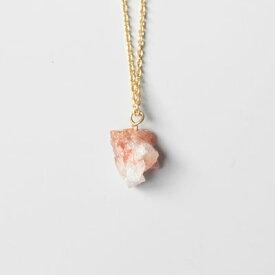 レターパック発送に変更できますLaboratorium(ラボラトリウム)mineralogical necklace008 サンストーン