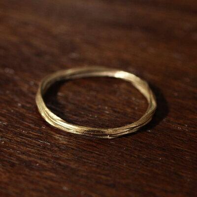 【受注販売】【送料無料】Laboratorium(ラボラトリウム)bundle ring 10KYG#9/#13