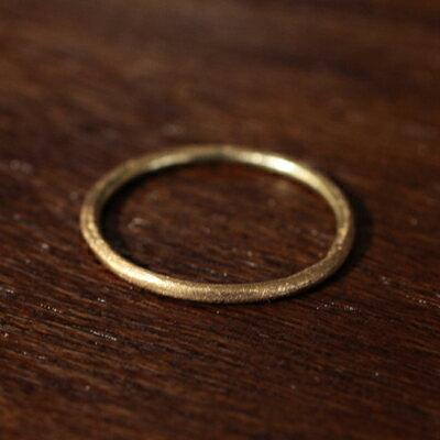 【受注販売】【送料無料】Laboratorium(ラボラトリウム)hand polish ring 10KYG#9/#13