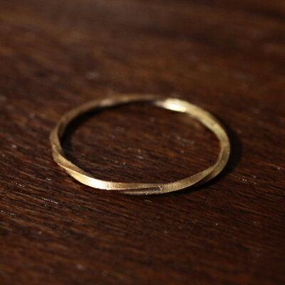 【受注販売】【送料無料】Laboratorium(ラボラトリウム)torsion ring 10KYG#9/#13