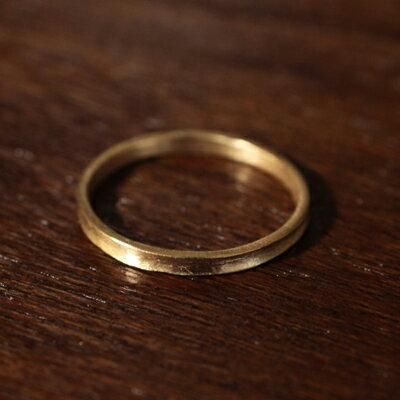 【受注販売】【送料無料】Laboratorium(ラボラトリウム)U shape ring 10KYG#9/#11