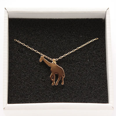LanternaSafari Necklace Giraffe Goldランテルナサファリ ネックレスジラフ(キリン) ゴールド