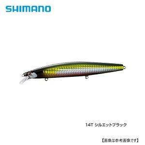 シマノ サイレントアサシン 129S AR−C 14T シルエットブラック メール便配送可 [ルアー]
