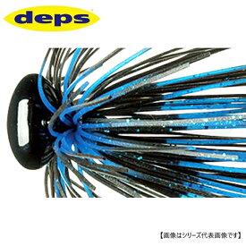 デプス ヘッドロックジグ ワイヤーガードモデル 3/8oz #52 ブルーブラック メール便配送可 [ルアー1]