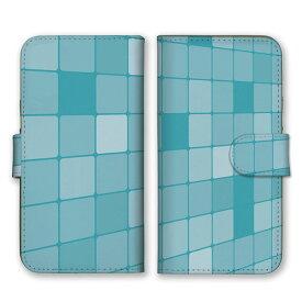 手帳型 全機種対応 ケース SIMフリー対応 スマホ スマートフォン iPhoneX/XS Max XR対応ケース モザイク 正方形 お洒落 壁 壁紙 四角 図形 タイル 瓦 3Dアート 芸術 個性的 お洒落 デザイン アート 水 紫 白 ブルー パープル set11574
