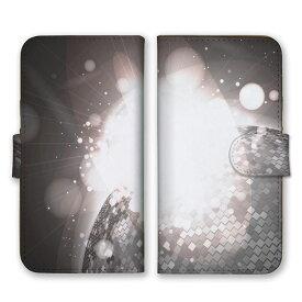 全機種対応 手帳型 スマホケース SIMフリー対応 地球 宇宙 星 STAR 光 芸術 デザイン アート 幾何学 神秘 ロボット 人気 王道 綺麗 シック 灰 白 銀 シルバー グレー set13144 iPhone12 11 Pro Max SE(第2世代) XS Galaxy Xperia AQUOS