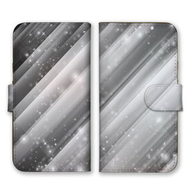 手帳型 全機種対応 ケース SIMフリー対応 スマホ スマートフォン iPhoneX/XS Max XR対応ケース点々 星 STAR 光 神秘 芸術 デザイン アート オーロラ 幻想的 模様 ミラーボール 個性的 奇抜 灰 白 銀 シルバー グレー set13149