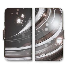 全機種対応 手帳型 スマホケース SIMフリー対応 点々 星 STAR 光 神秘 芸術 デザイン アート オーロラ 幻想的 模様 ミラーボール 個性的 奇抜 灰 白 銀 シルバー グレー set13150 iPhone12 11 Pro Max SE(第2世代) XS Galaxy Xperia AQUOS