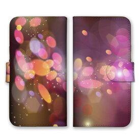 手帳型 全機種対応 ケース SIMフリー対応 スマホ スマートフォン iPhone11 X/XS Max SE2対応ケース 丸 玉 リング 幻想 神秘的 芸術 デザイン アート 綺麗 ネオン 光 ライト 照明 お洒落 可愛い キラキラ 赤 ピンク 橙 白 ワインレッド set13528