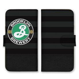 手帳型 全機種対応 ケース SIMフリー対応 スマホ スマートフォン iPhoneX/XS Max XR対応ケースBROOKLYN アメリカ 米国 ライン 線 デザイン 柄 模様 シンプル おしゃれ 人気 オススメ かっこいい 個性的 黒 グレー 白 カーキー 緑 set16960