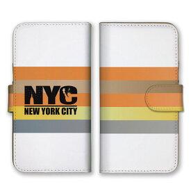 手帳型 全機種対応 ケース SIMフリー対応 スマホ スマートフォン iPhone 7 6 5 plus ボーダー ライン 線 柄 模様 英語 文字 Queen's シンプル おしゃれ かっこいい オススメ 斬新 暖色 大人 オレンジ クリーム 黄色 シルバー set17040