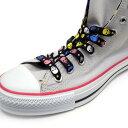 LA-017-110【スカル・ドクロ】【靴ひも シューレース】【110cm】【1.0cm幅】スカル柄プリントのシューレース 2本入り…