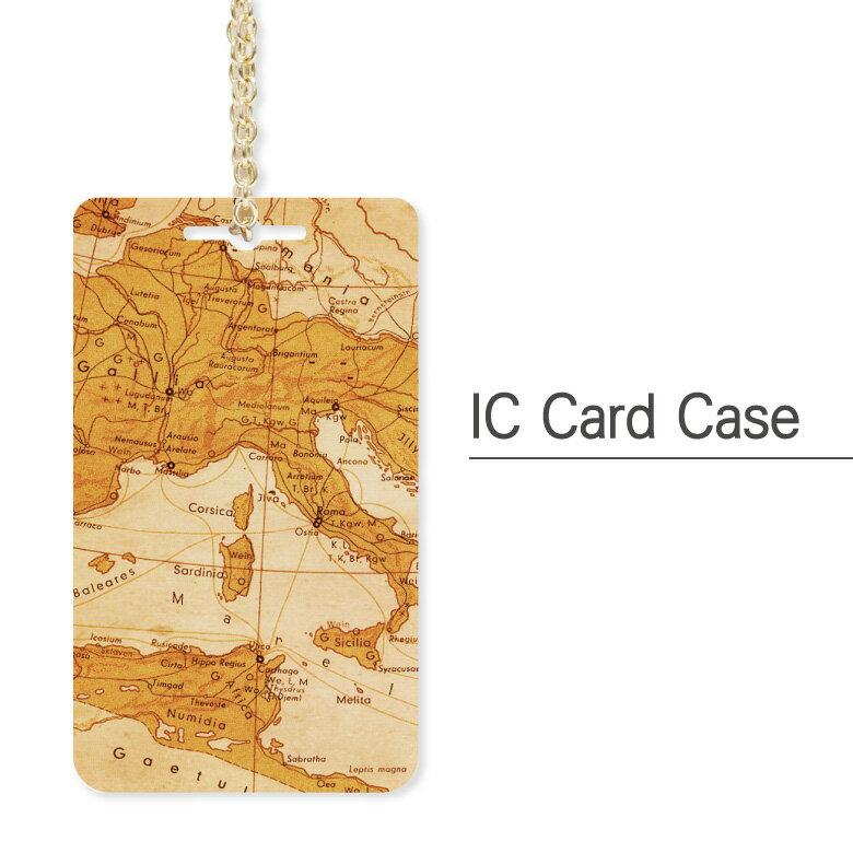 パスケース Map ハードケース| 定期入れ チェーン ICカード ストラップ レディース 通勤 通学 雑貨 かわいい おしゃれ