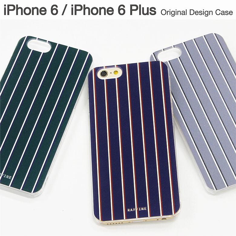 スマホケース iPhone 6 iPhone 6s iPhone 6sPlus ケース 対応 クリアケース レジメンタル ストライプ | アイフォン スマホ ハード スマホカバー カバー ボーダー