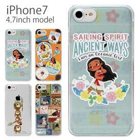 477216be63 iPhone8 iphone7 ケース ディズニー モアナと伝説の海 iphone7ケース ハードケース クリア| スマホケース iPhone7  アイフォン7 ケース カバー キャラクター グッズ ...