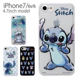 fe52e71028 ディズニー スティッチ iPhone7 4.7インチモデル対応 ハードケース スマホケース アイフォン7 フィン ブルー ブラック 青 黒  iphone7 クリアケース 人気 キャラクター ...